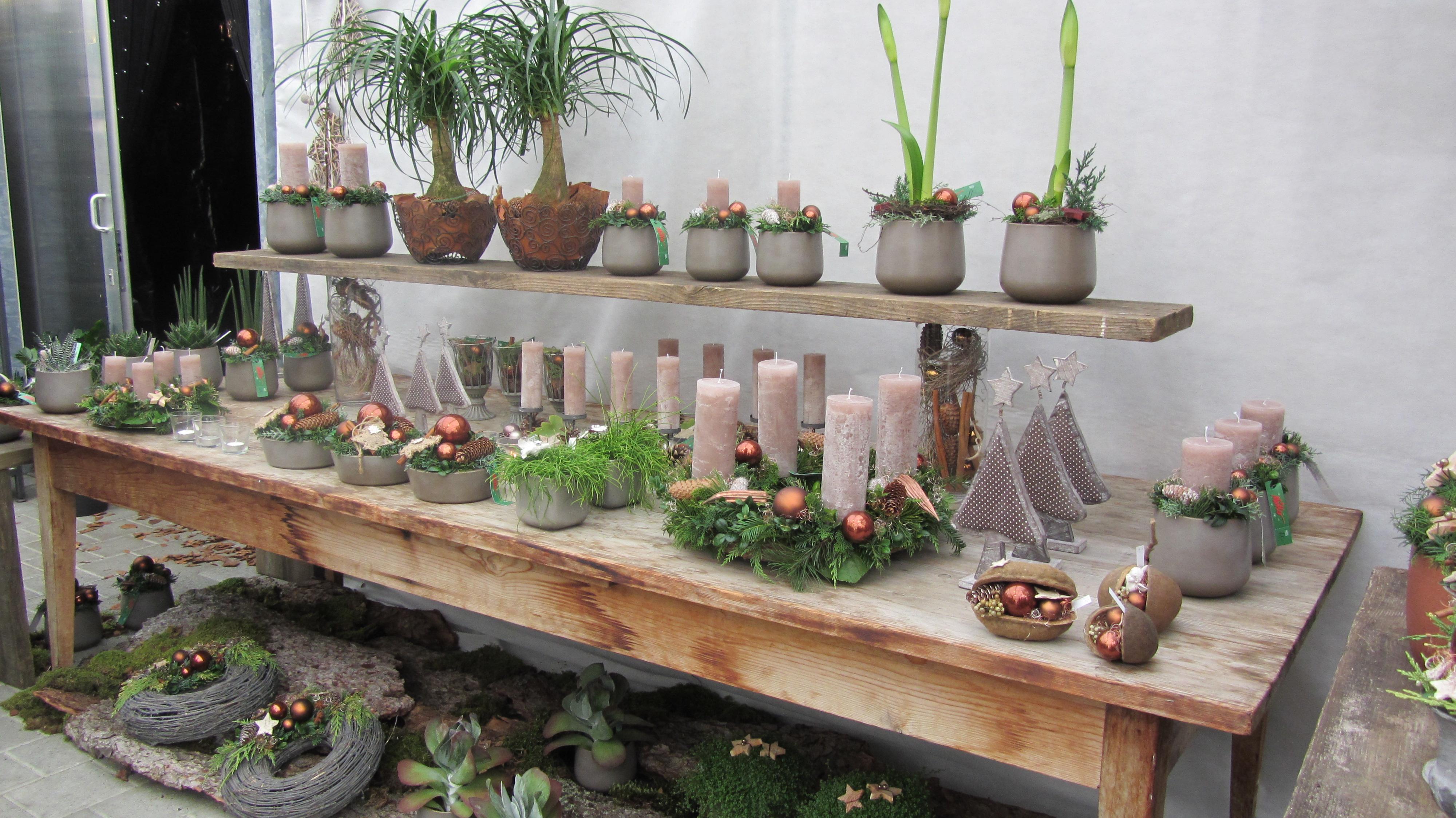 2012 weihnachtsausstellung img 0604 blumen g rtnerei for Weihnachtstrends 2016 floristik